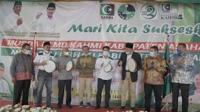 Musda IV MD Kahmi dan Musda II Forhati Kabupaten Asahan Digelar
