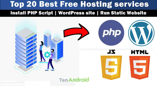 Top 20+ Best Web Hosting services for PHP, Static or WordPress site