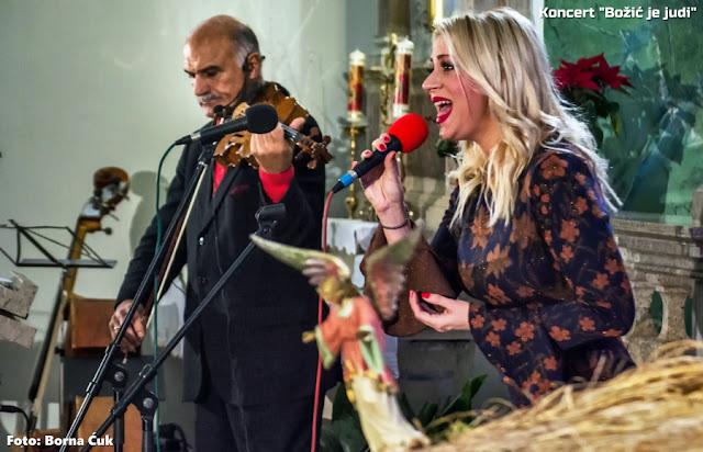 Koncert 'Božić je judi' održan u prepunoj vološćanskoj crkvi Sv.Ane 29.12.2018