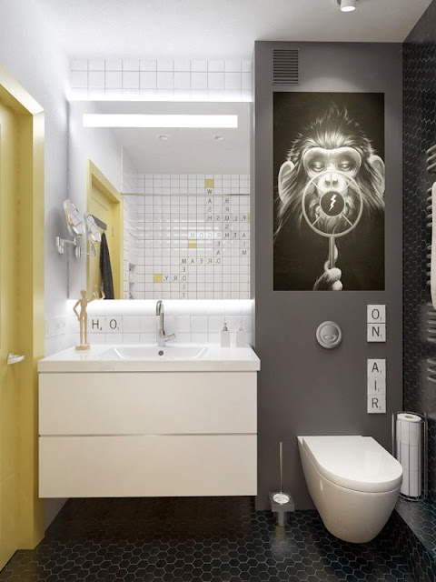 6' 10' Bathroom Design
