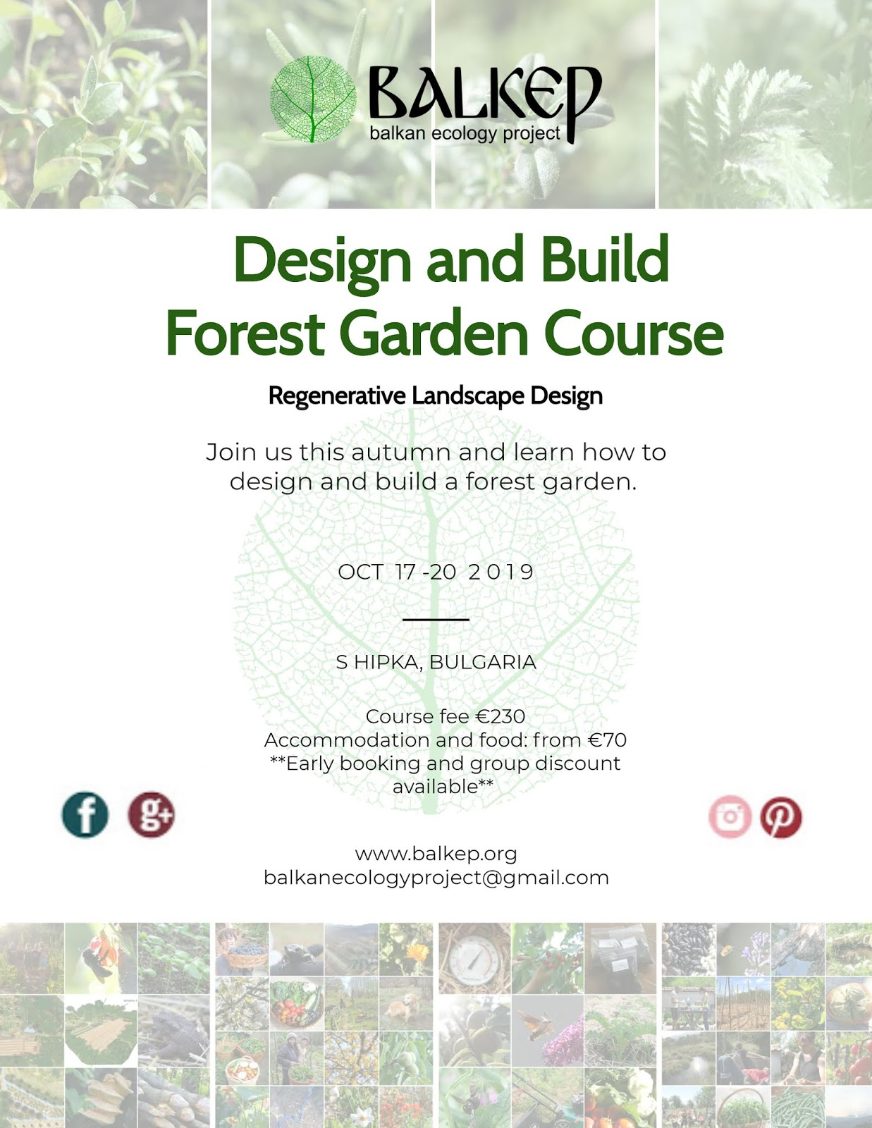 Balkan Ecology Project : How to Design and Build A Forest
