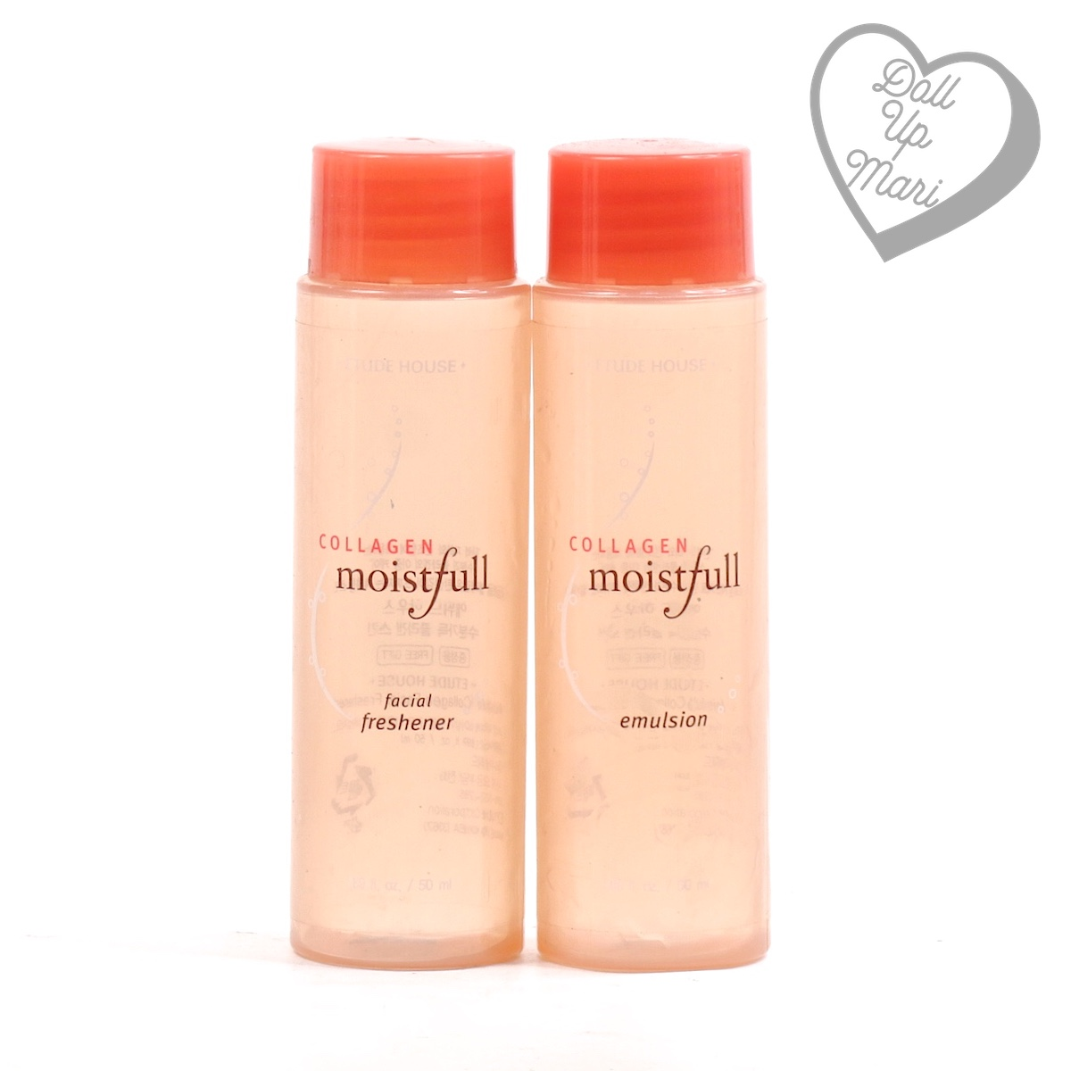 Etude House Moistfull Collagen Freshener and Emulsion