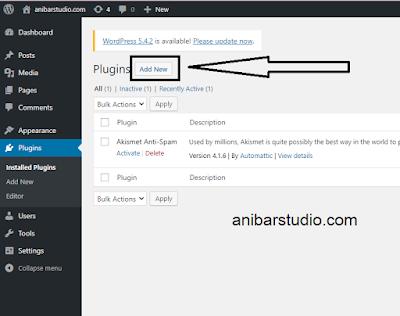 Cara Manual Instal Plugin Wordpress