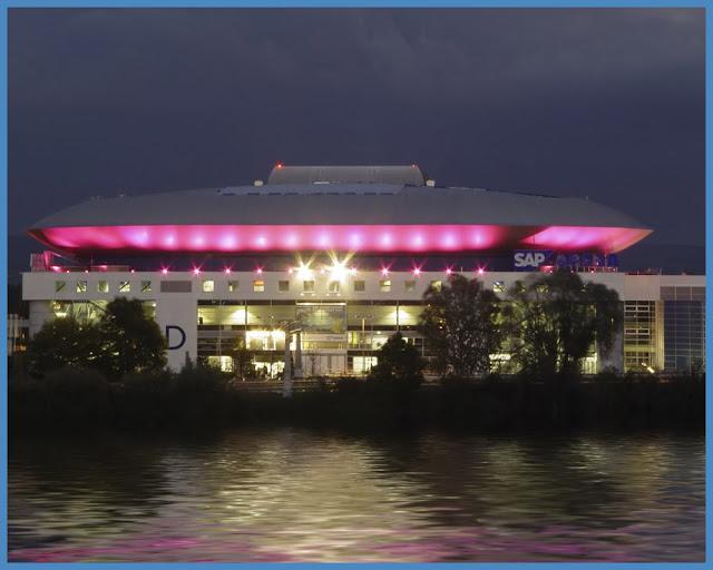 SAP Arena Überschwemmung Mannheim ]² Foto & Bild from sap arena bilder