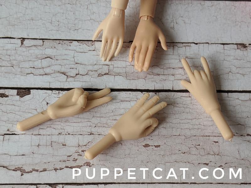кукольные кисти рук