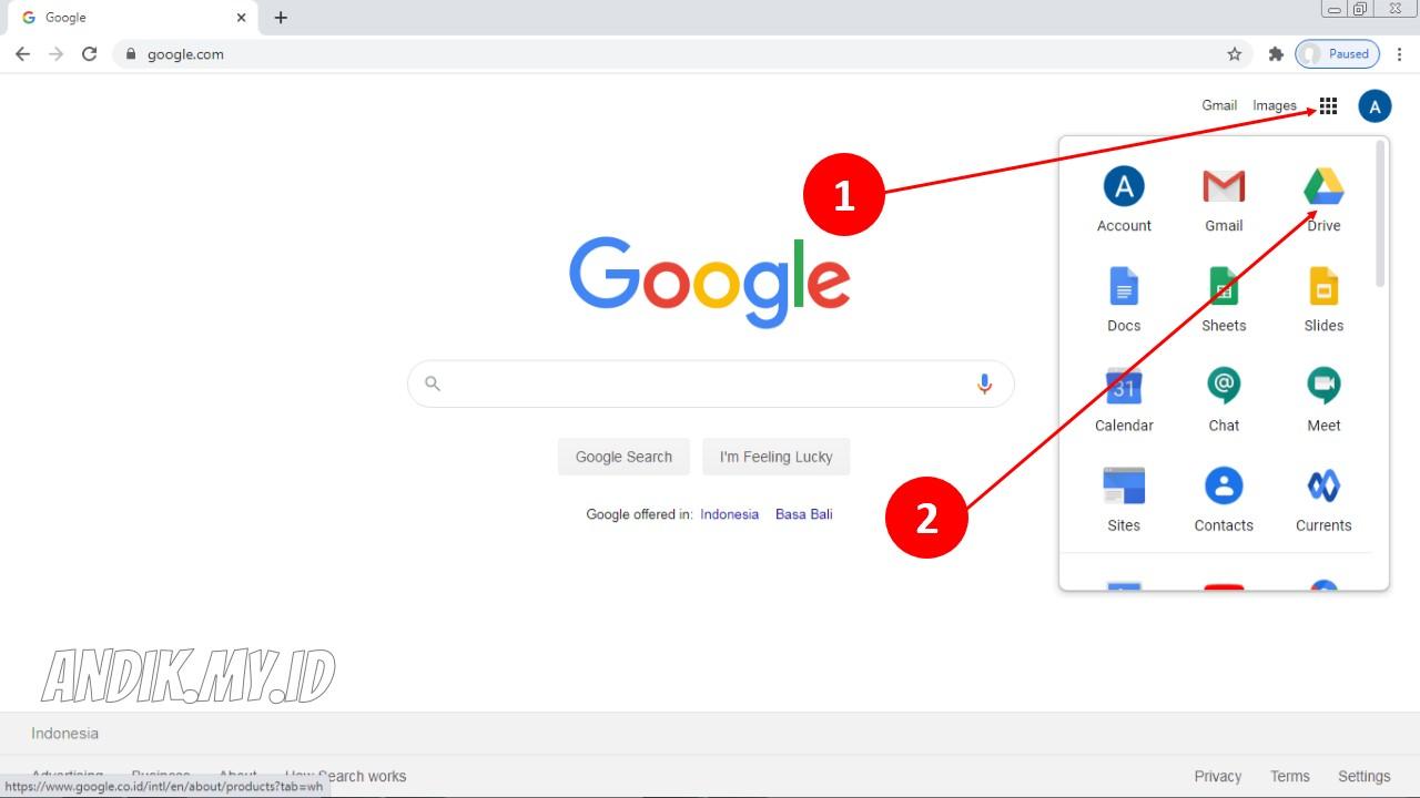 Tips Cara Memasukkan File Di Google Drive Terbaru