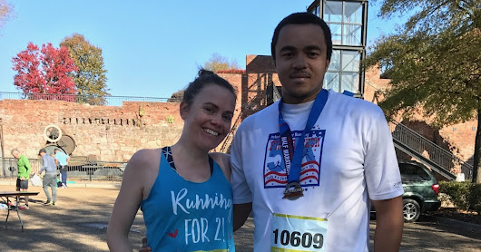 Pregnant Race Report - Richmond Half Marathon