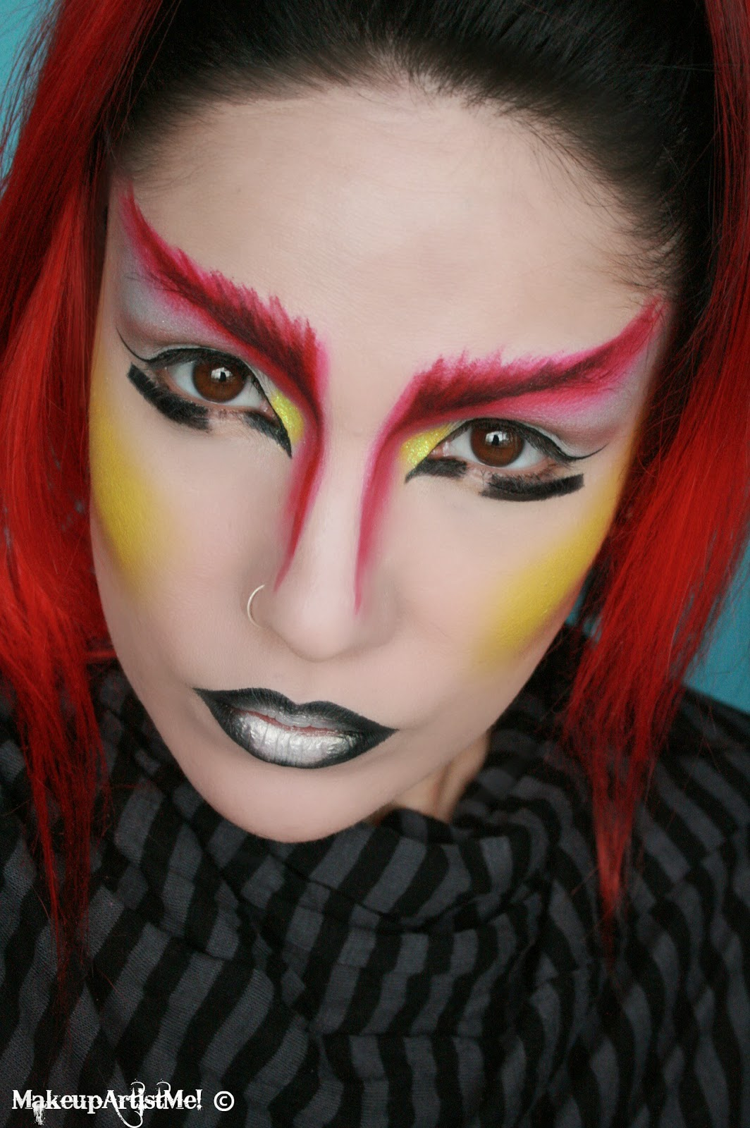 Make-up Artist Me!: Warrior -- An Artistic Makeup Look