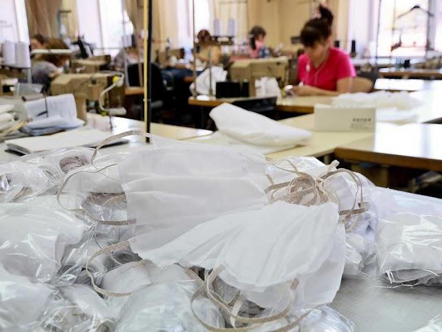 У Василькові та Богуславі запустили власне виробництво медичних масок