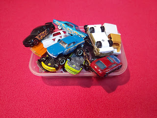 Toy Cars ready to be repainted