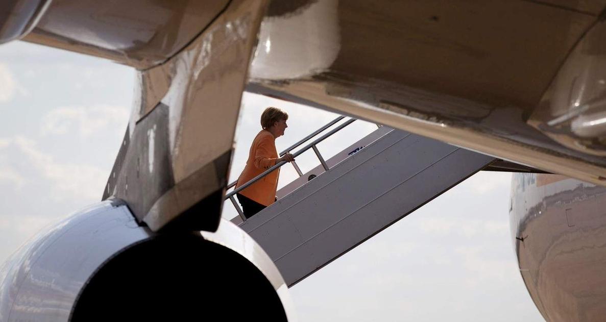 G20, atterraggio emergenza aereo Merkel