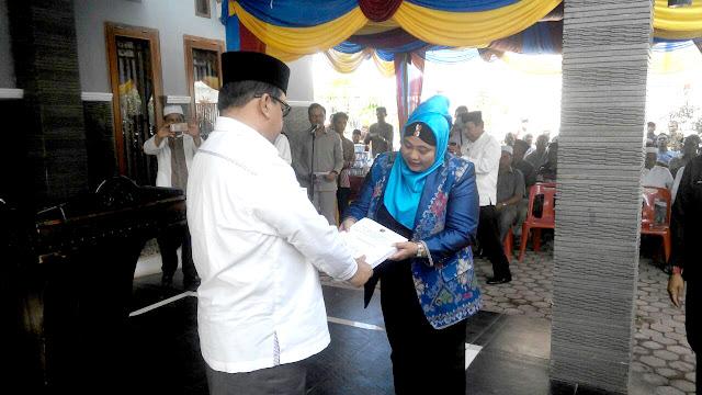 20 Desa Persiapan di Abdya Terima SK Definitif dari Mendagri