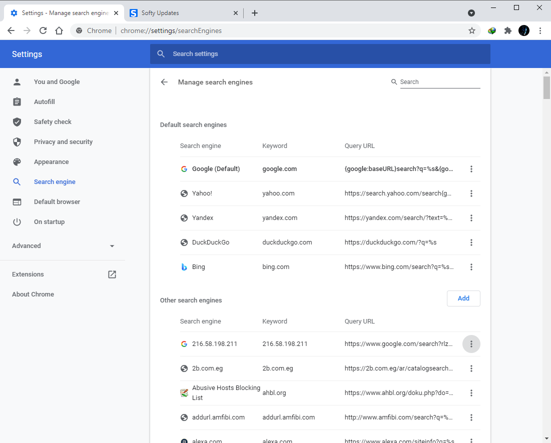 Google Chrome Browser 90.0.4430.212