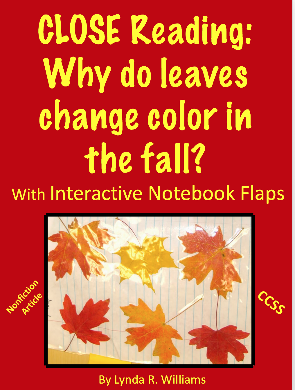 Teaching science with lynda classifying leafs for When will the leaves start changing 2017