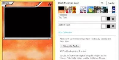 Membuat kartu pokemon secara online-4