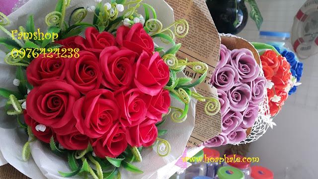 Hoa hong sap thom vinh cuu tai Bac Tu Liem
