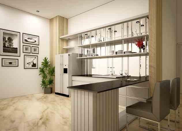 Dapur Rumah Type 45 tema minimalis
