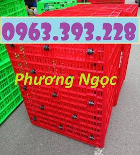 Sọt nhựa 26 bánh, sọt nhựa HS015, sóng nhựa công nghiệp 08ba9b61d35c2a02734d