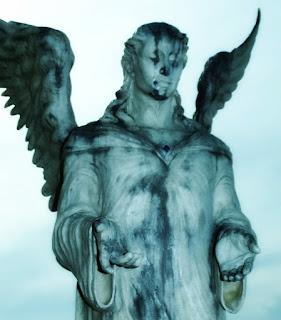 Anjo Alado no Monumento aos Fuzilados, Santo Antônio da Patrulha