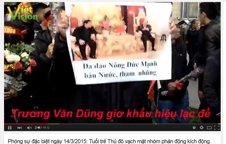 Kết quả hình ảnh cho No-U Hà Nội tưởng niệm 19 1 2015