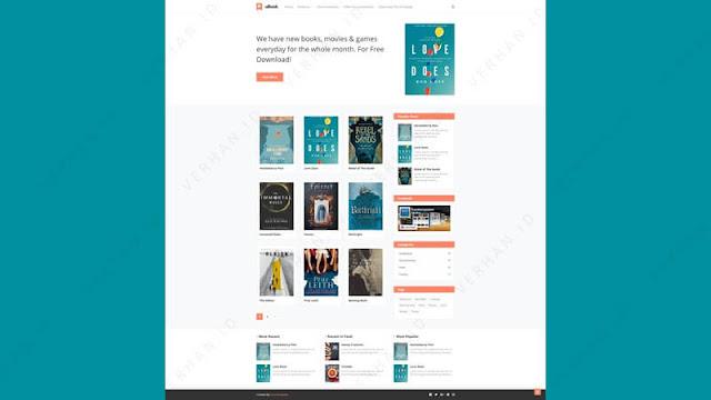 ubook blogger template