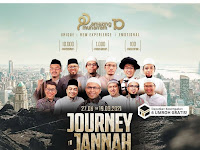 *JOURNEY TO JANNAH*,  10 Petualangan Bersama Al-Quran  27 Agustus 2021 – 19 September 2021