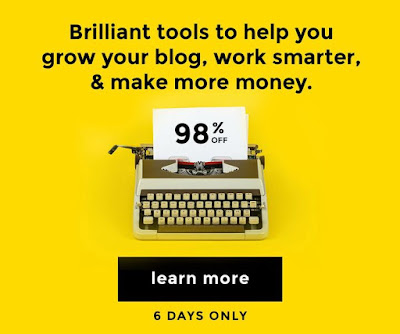 Save time, money, and work by letting others do the hard stuff. Learn to make more money from your blog by learning from others who are already succeeding. Get this ultimate blogging bundle now and be a better blogger tomorrow.