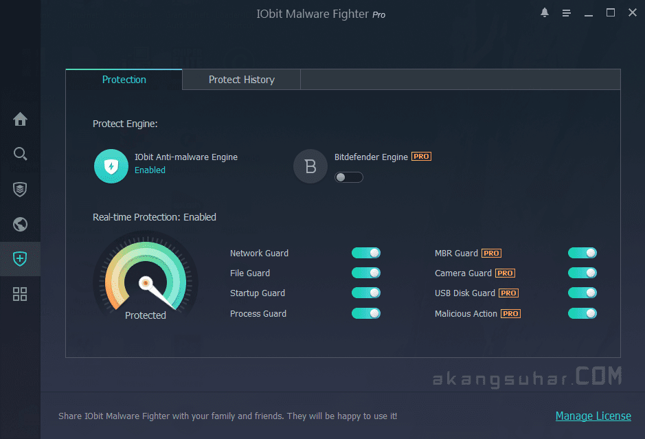 Gratis Download IObit Malware Fighter Pro Full Crack Terbaru
