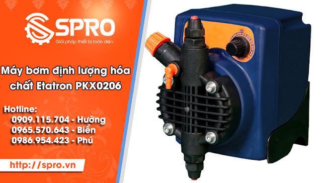 máy bơm định lượng hóa chất Etatron PKX0206