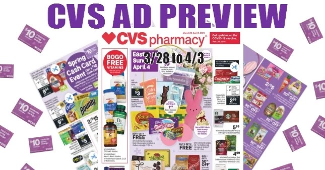 CVS Ad Scan 3/28 to 4/3
