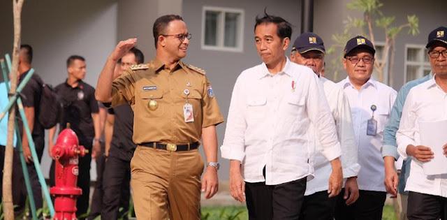 Utamakan Perlindungan Warga Ibu Kota, Jokowi Siap Backup Anies