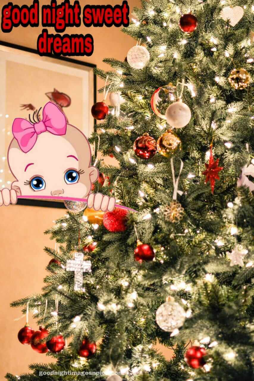 Good Night Christmas Images