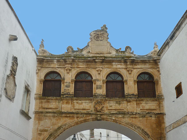 Arco Stoppa a Ostuni