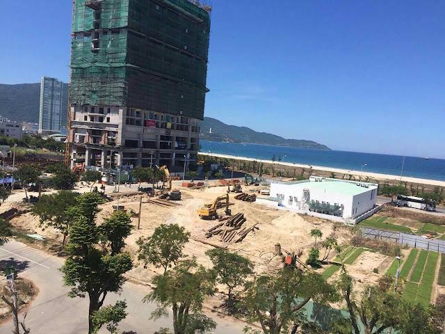 Tiến độ dự án Central Coast Đà nẵng