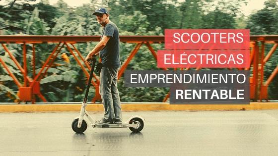 scooters eléctricas emprendimiento