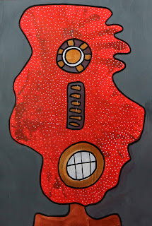 """""""The Moon Tribe"""", personale di Giuseppe Piccione tra cubismo sintetico e pop art"""