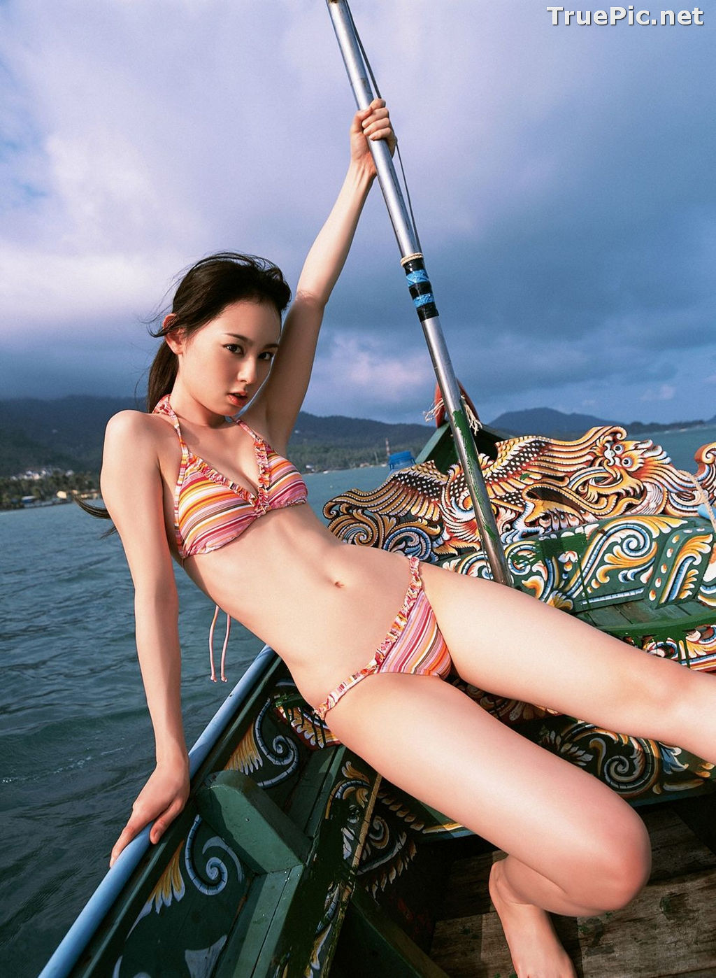 Image YS Web Vol.215 – Japanese Actress and Gravure Idol – Akiyama Rina - TruePic.net - Picture-9