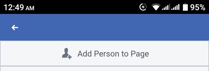 Add person to page facebook