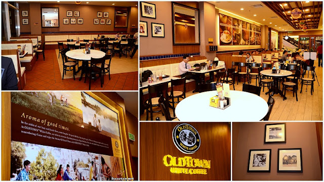 Old Town White Coffee Paradigm Mall