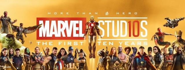 Marvel Studios celebran 10 años con una épica fotografía