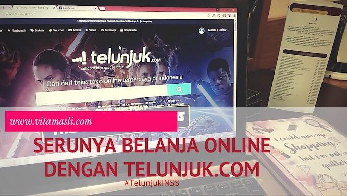 Serunya Belanja Online Dengan Telunjuk.com