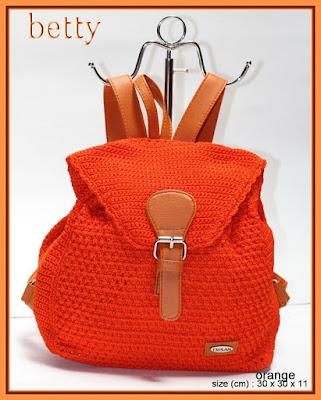 Backpack model tas wanita