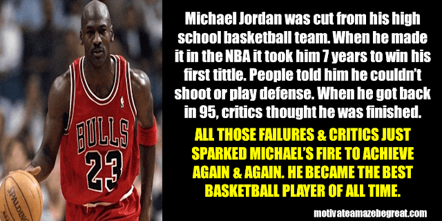 Success Stories From Famous People Who Failed Before Succeeding: Michael Jordan