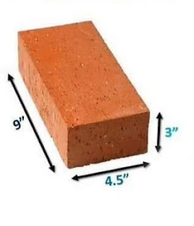 How to Calculate Numbers Of Bricks  You Will Need In One cubic Feet