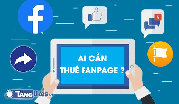 cho thue fanpage facebook