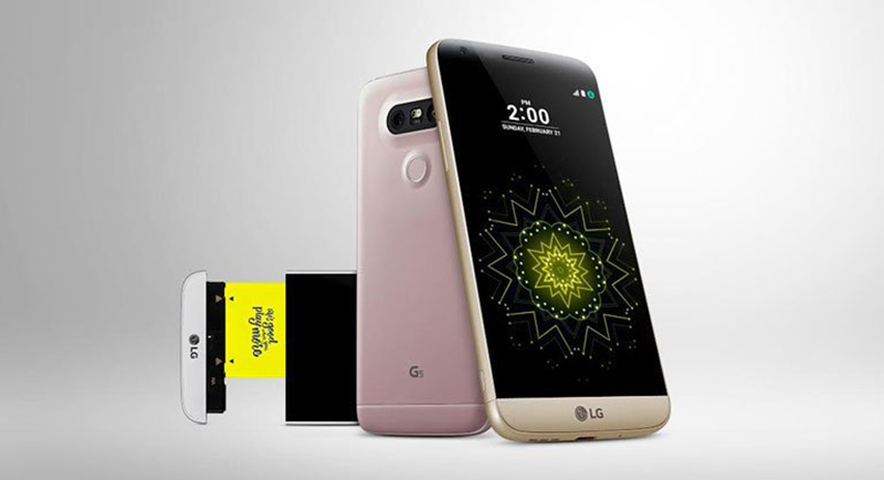 LG G5 now official