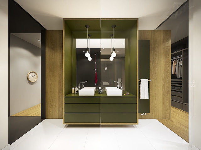 Bathroom Design Green