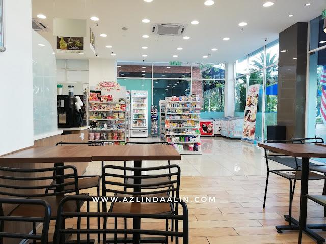 PERTAMA KALI MASUK KE FAMILY MART MAKAN ODEN, FAmily MArt Ara Damansara, Lokasi Family Mart