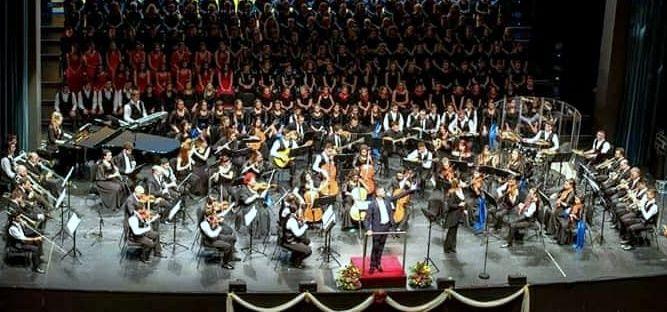 Η Συμφωνική Ορχήστρα Νέων Ελλάδος στον Πολύγυρο - 3 Ιουλίου 2019