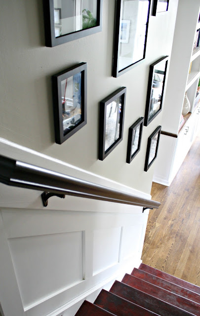 Painting handrail black